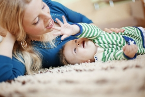 bigstock-Mother-with-her-baby-at-home-12143537-300x200