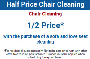 Half Price Chair Cleaning